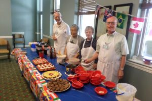 Admiral residents volunteering at Olympics celebrations in The Harbors