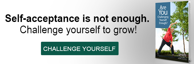 are you challenging yourself enough button